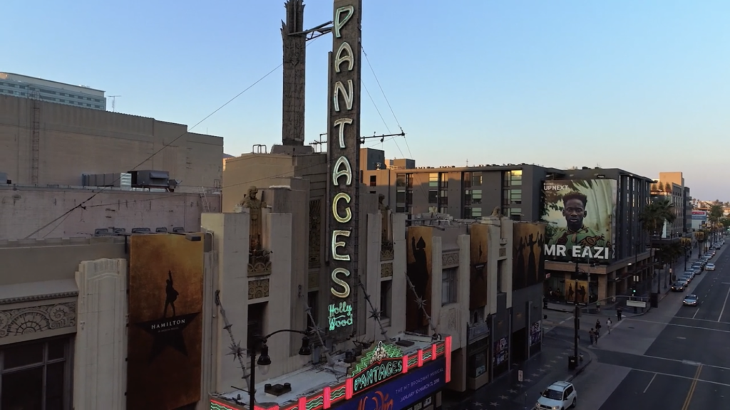 The RKO Pantages in Hollywood
